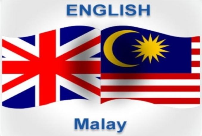 Translate English To Bahasa Malaysia Translationservices Sg